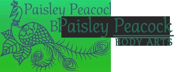 Paisley Peacock Body Arts