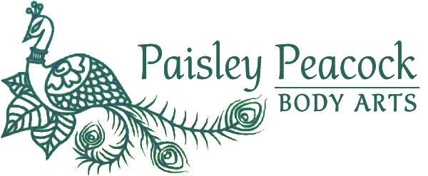 Paisley Peacock Body Arts
